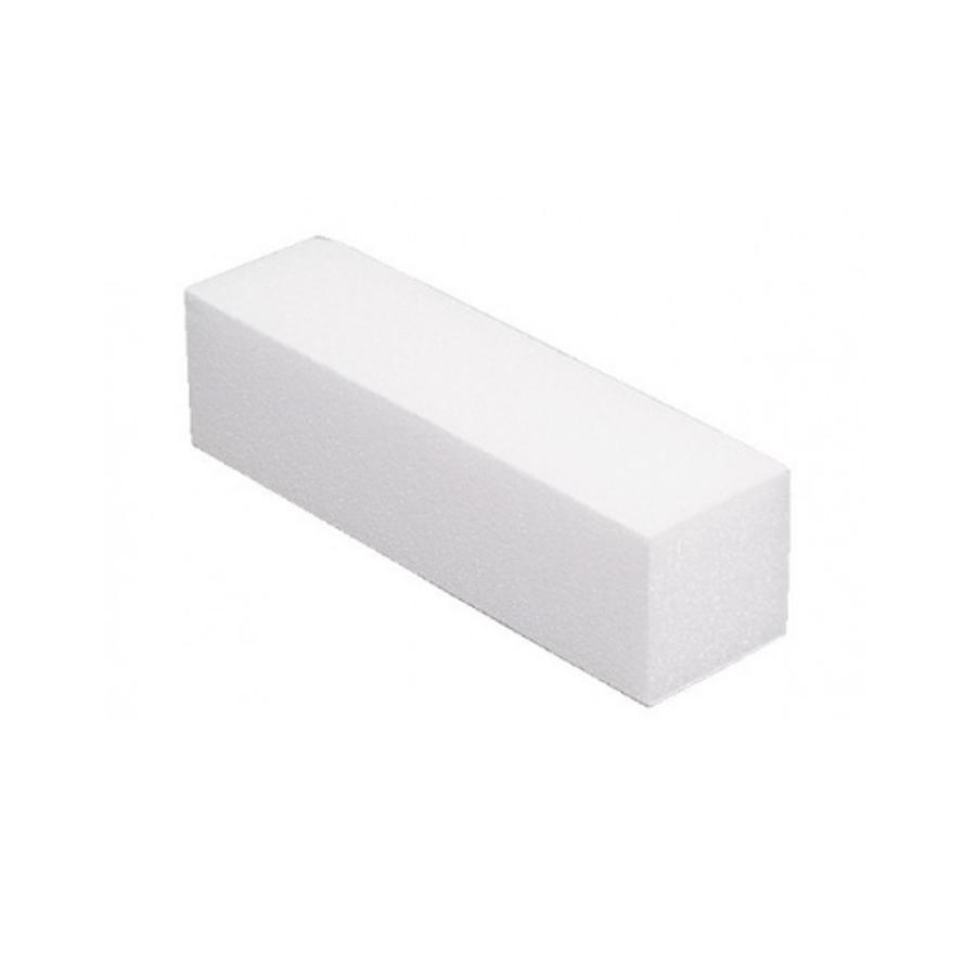 Баф прямокутний, 100 грит, білий