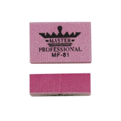 Міні-баф для шліфування нігтів, рожевий