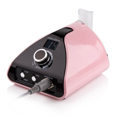 Фрезер для маникюра и педикюра Nail Drill ZS-711, 65 ватт, 35 тыс об., розовый