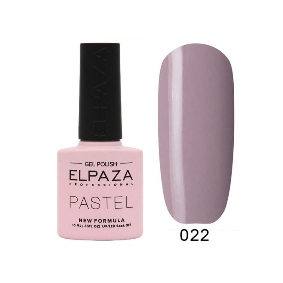 Гель-лак ELPAZA Pastel №022, Модена, сиреневый