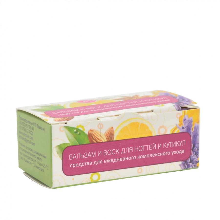 Бальзам и воск для ногтей и кутикулы VitiNails, нероль+грейпфрут и мирра+иланг-иланг, 2*6мл
