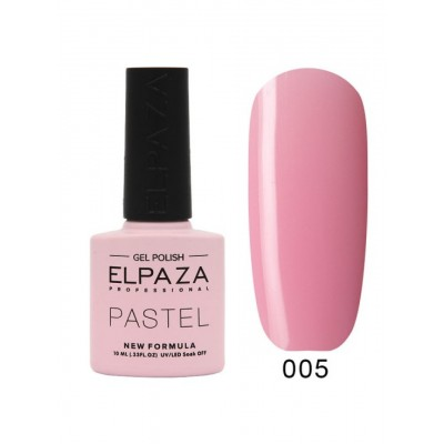 Гель-лак ELPAZA Pastel №005, Марсель, рожевий