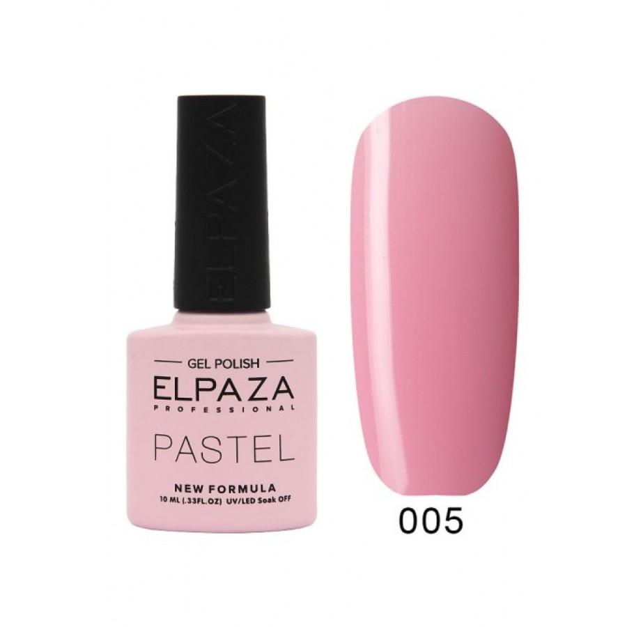 Гель-лак ELPAZA Pastel №005, Марсель, розовый