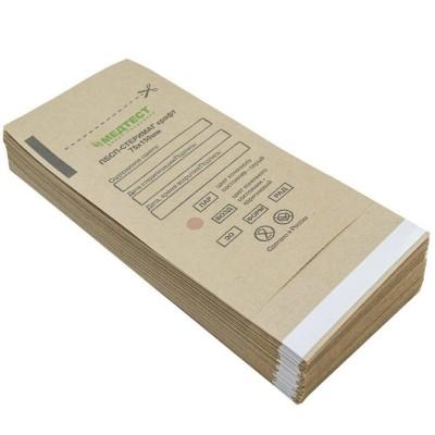 Крафт пакет МЕДТЕСТ для стерилізації інструменту, 75х150мм, упаковка