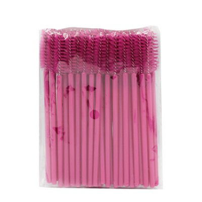 Набор щеточек нейлоновых 25 шт, розовые