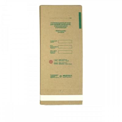 Крафт пакет МЕДТЕСТ для стерилізації інструменту, 75х100мм, 10 шт