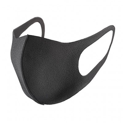 Многоразовая защитная маска-питта SponDuct, черная
