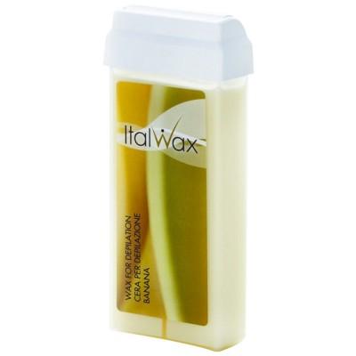Воск кассетный для депиляции ItalWAX Банан, 100мл
