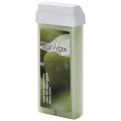 Воск кассетный для депиляции ItalWAX Оливка, 100мл