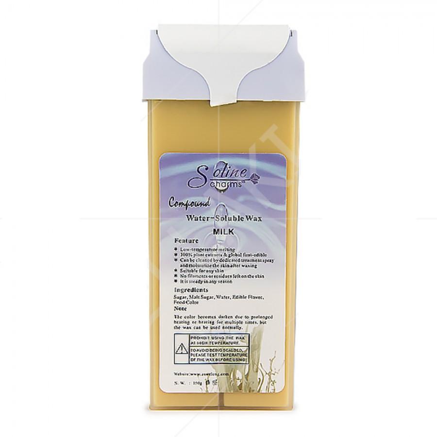 Віск касетний водорозчинний для депіляції Молоко, 150 г