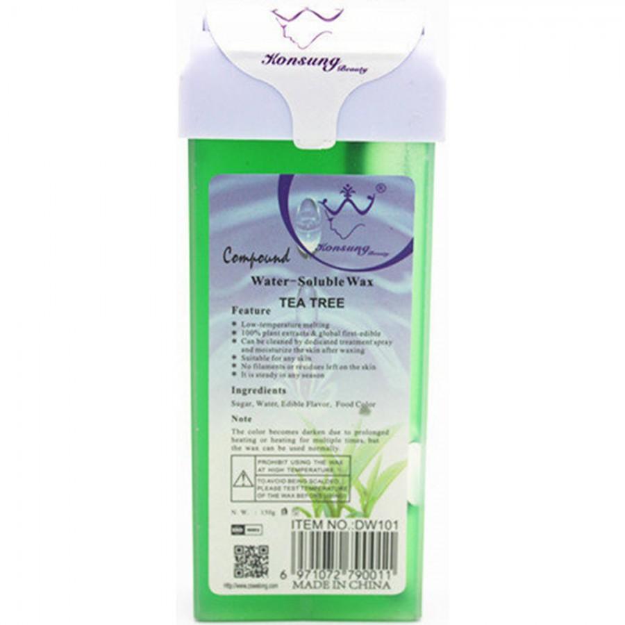 Віск касетний водорозчинний для депіляції Чайне дерево, 150 г