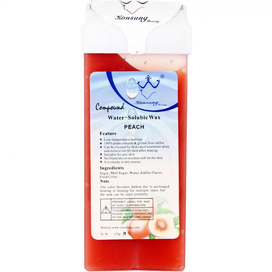 Віск касетний водорозчинний для депіляції Персик, 150 г