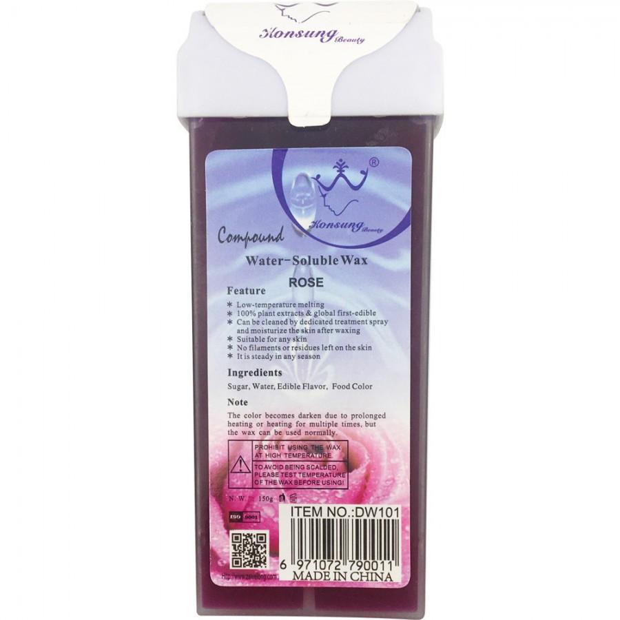 Воск кассетный водорастворимый для депиляции Роза, 150 г