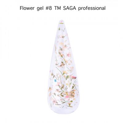 Цветочный гель SAGA Flower Gel 08, 5 мл