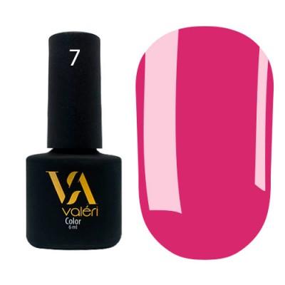 Гель-лак VALERI №7, розовый, 6 мл