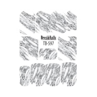 Слайдер Dream Nails, TB-597S, серебро