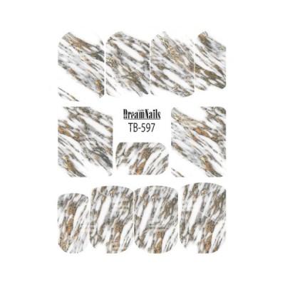 Слайдер Dream Nails, TB-597G, золото