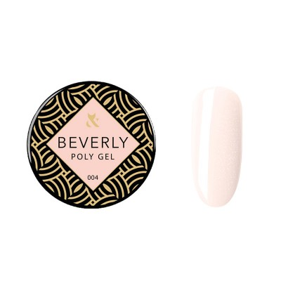 Акрилгель F.O.X Beverly 004, 30 ml(банка), розовый с шиммером