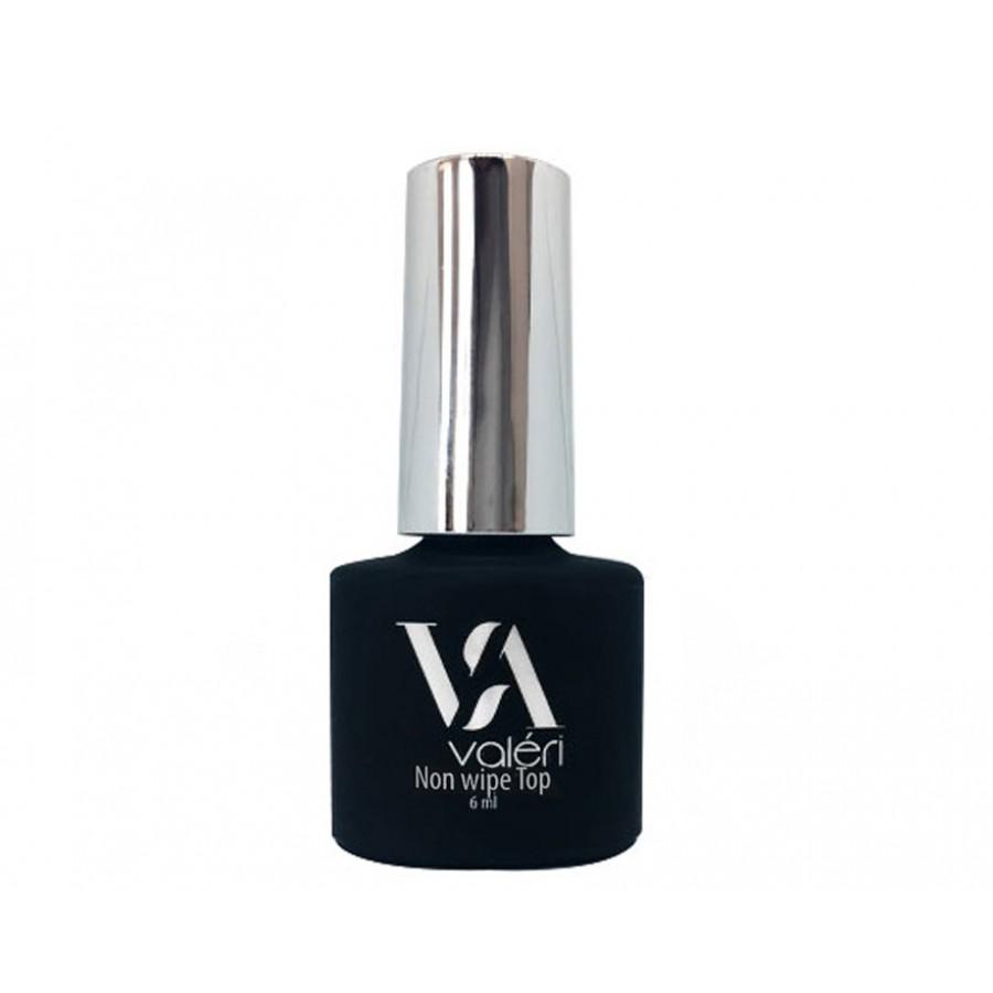 Топ для ногтей без липкого слоя VALERI Top Non Wipe, 12 мл