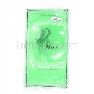 Парафин для парафинотерапии в пакете, зеленый