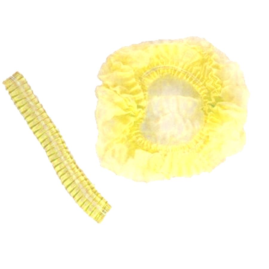 Шапочка для солярия, желтая, 10 шт