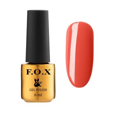 Гель-лак FOXEuphoria601,яскравийчервоний, 6мл