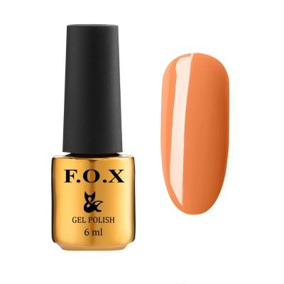 Гель-лак FOXEuphoria602,помаранчевий, 6мл