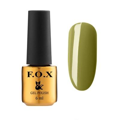 Гель-лак FOXEuphoria604,зелений, 6мл