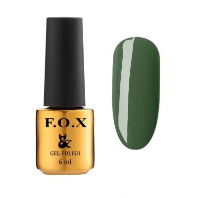 Гель-лак FOXEuphoria605,темнийзелений, 6мл