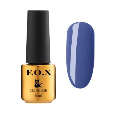 Гель-лак FOXEuphoria609,синій, 6мл