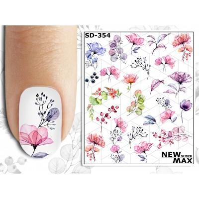 SD-354 Слайдер дизайн NEW MAX, цветы