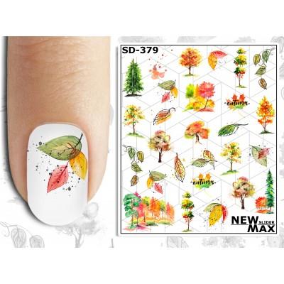 SD-379 Слайдер дизайн NEW MAX, листья (осень)