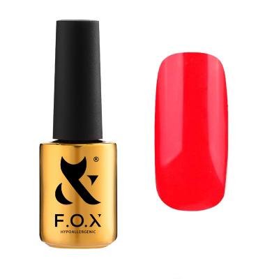 Гель-лак FOX gel-polish gold Pigment 043, красный, 7 ml