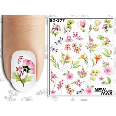 SD-377 Слайдер-дизайн NEW MAX весна (цветы)