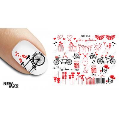SD-313 Слайдер-дизайн NEW MAX клип-арт (любовь)
