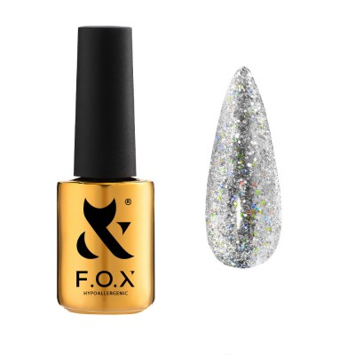 Хрустальная кошка F.O.X gel-polish gold Sphynx Cat Eye 003, 7 ml