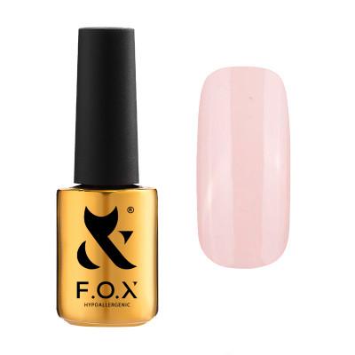 Гель-лак FOX gel-polish gold Pigment 438, молочный, 7 ml