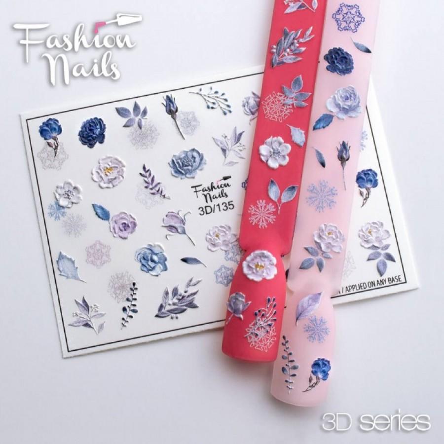 3d-135 Слайдер дизайн Fashion квіти