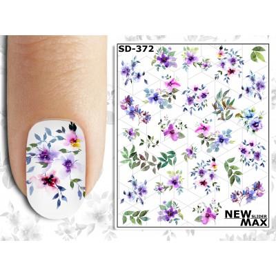 SD-372 Слайдер дизайн NEW MAX цветы