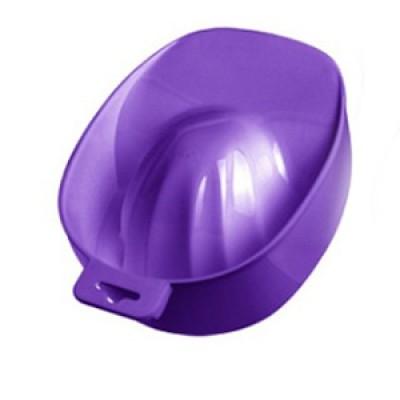 Ванночка маникюрная пластиковая, фиолетовая