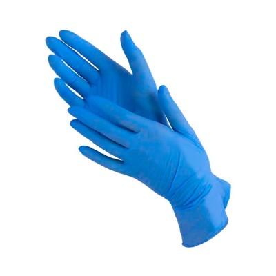 Перчатки нитриловые Gloves, M, голубые, пара
