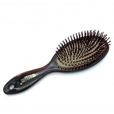 Масажна щітка для волосся SALON Professional 6903ТТ, коричнева