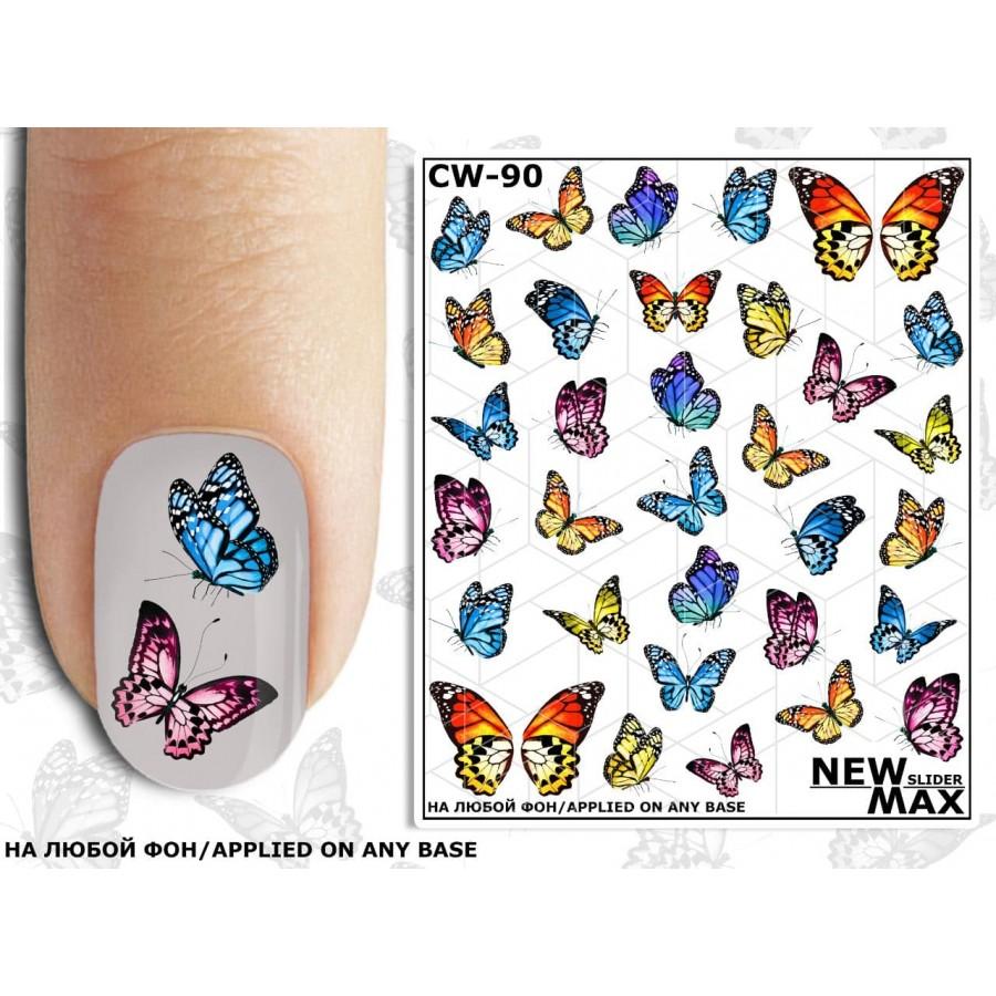 CW-90 Слайдер-дизайн NEW MAX бабочки