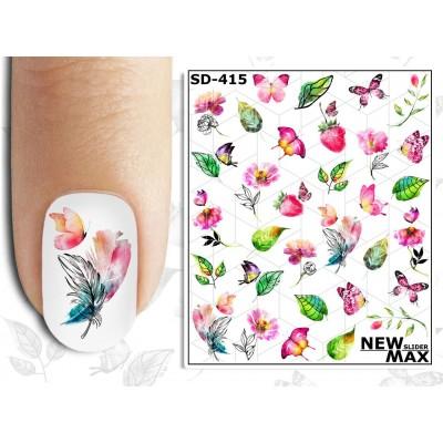 SD-415 Слайдер-дизайн NEW MAX цветы