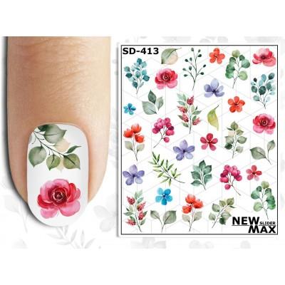 SD-413 Слайдер-дизайн NEW MAX цветы
