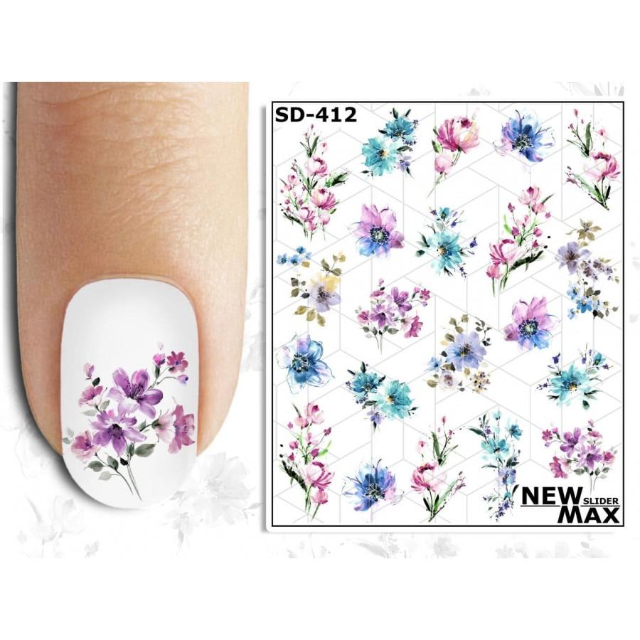 SD - 412 Слайдер-дизайн NEW MAX квіти