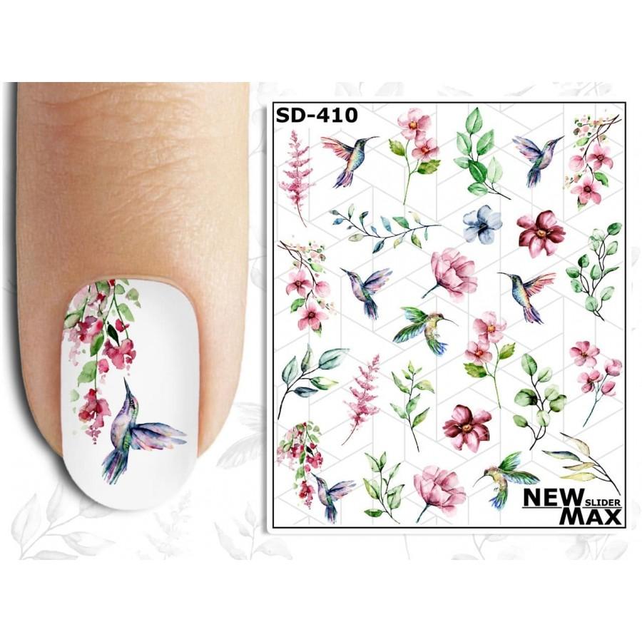 SD-410 Слайдер-дизайн NEW MAX цветы