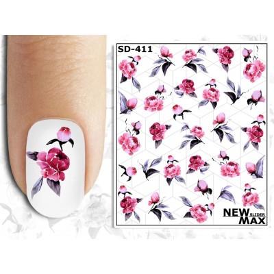 SD-411 Слайдер-дизайн NEW MAX цветы