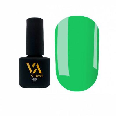 Гель-лак Valeri №121, зеленый 6 ml