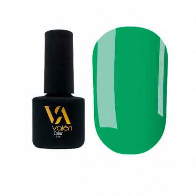 Гель-лак Valeri №123, зеленый 6 ml